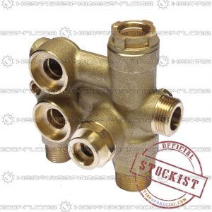 Baxi 3 Way Valve Assembly With Bypass 7224763
