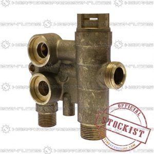 Baxi Brass Flow Assy Without By Pass 720789401