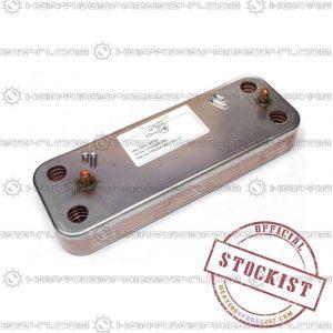 Baxi Heat Exchanger  DHW  (10 PL)  7225724