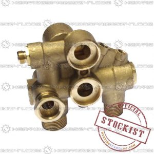 Baxi Hydraulic Inlet Assy - 105  248246