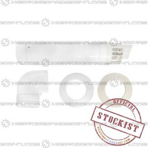 Baxi Standard Telescopic Flue White 720599401