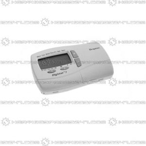 Drayton Digistat + 3 Prog Room Stat 7Day (Battery) 22083