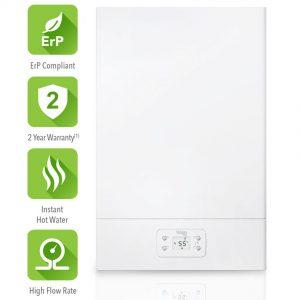 Vokera Easi-Flo LE 30kw Natural Gas Water Heater & Flue 20143494