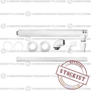Ariston Plume Kit: including 1m Horz Flue 3318329
