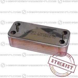 Biasi DHW Heat Exchanger Bi1161100