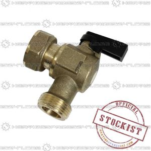 Chaffoteaux Water Flow & Return Service Tap 61303534