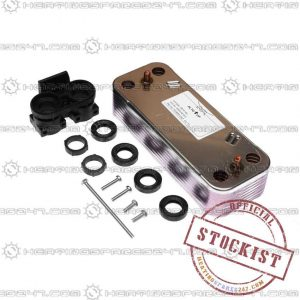 Chaffoteaux Water Heat Exchanger - 61302409-01