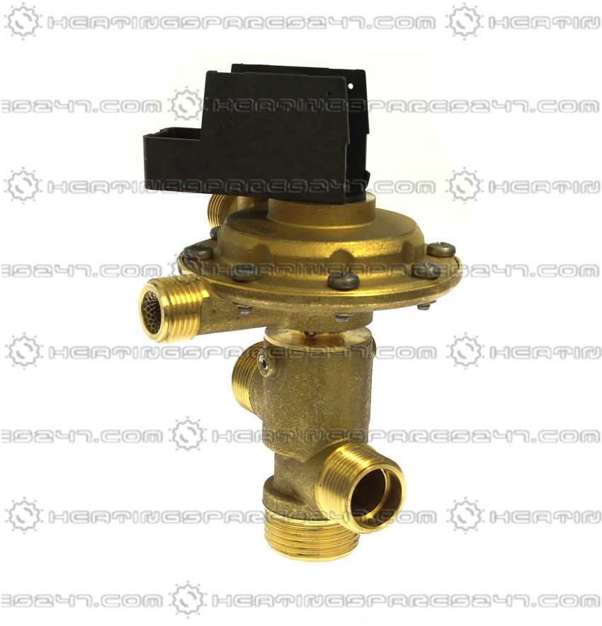 Giannoni 3 Way Diverter Valve Type D GIAD | Heatingspares247 com