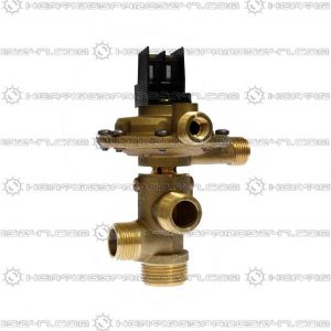 Giannoni 3 Way Diverter Valve Type F GIAF
