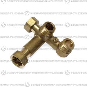 Glowworm 3 Way Valve Block S010002458