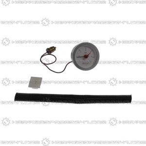 Glowworm Pressure Gauge and Insulation 2000800340