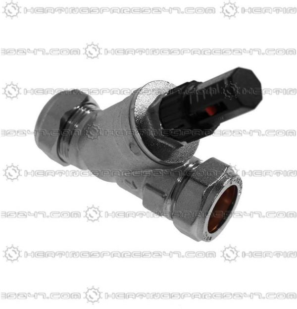 Inta Auto Bypass Valve Straight 22mm ABPS22AT