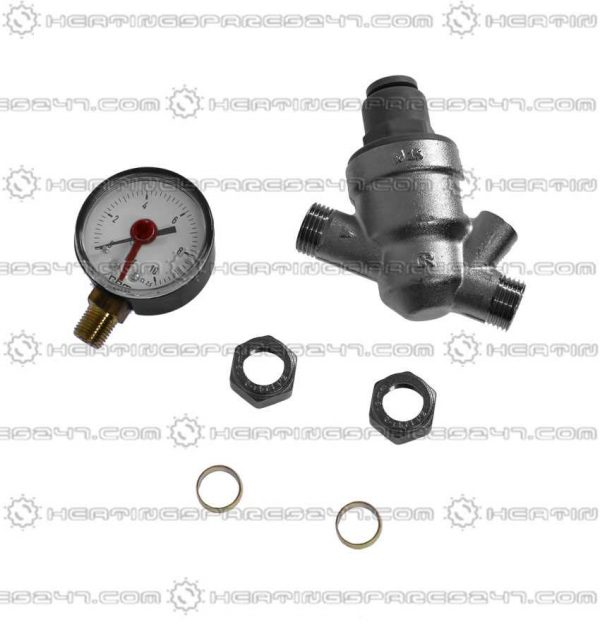 Inta Pressure Reducing Valve 15mm with Gauge & Filter PRV22331510.1