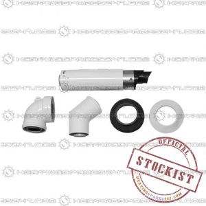 Intergas Horizontal Telescopic Offset Flue Kit 081298