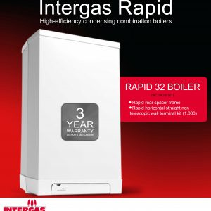 Intergas Rapid 32 Boiler Pack 049927