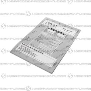 Interpart Gas Safety Inspection Pad INP0292