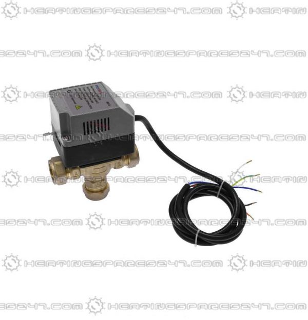 Interpart Mid Position Valve Assy 22mm 4 Wire + Earth INP0109