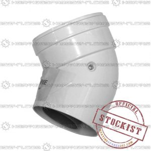 Main Combi 135 Deg Flue Elbow 5111076