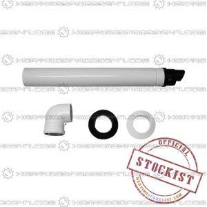 Main Horizontal Flue Black (Fixed) 7222019