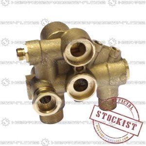 Main Hydraulic Inlet Assy -- 105  248246