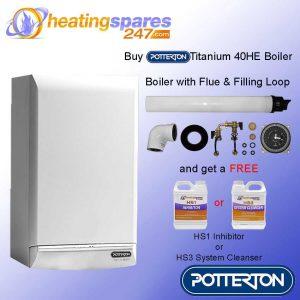 Potterton Titanium 40HE combination Boiler Pack