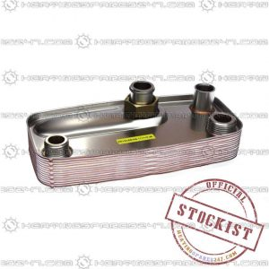 Ravenheat DHW Heat Exchanger LS80/LS100  0002SCA09015/0
