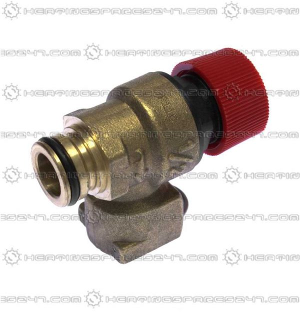 Ravenheat Safety Relief Valve - Push To Push Fit  0008VAL01018/1