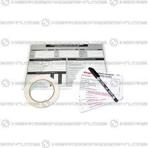 Regin Chimney/Flue Notice Pack REGP71