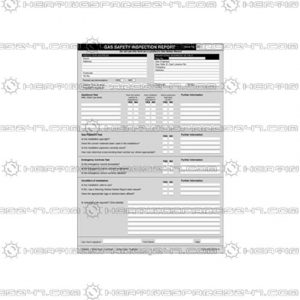 Regin Gas Safety Inspection Report Pad REGP50