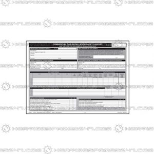 Regin Maintenance/Service Check List Pad REGP65