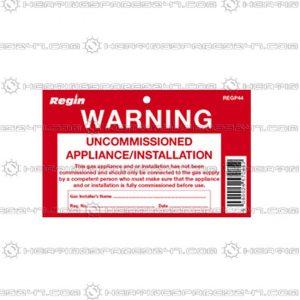 Regin Uncommissioned Appliance Tag REGP44