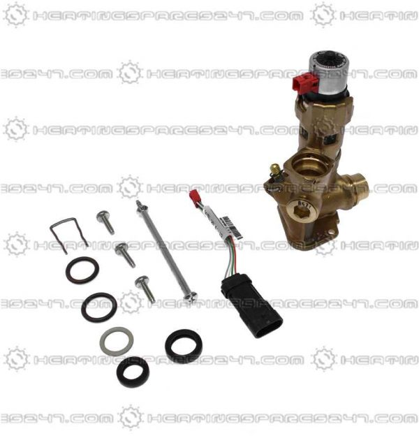 Vaillant ecoTEC Plus Diverter Valve Bras With Adaptor  0020132682