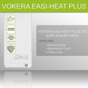 Vokera Easi-Heat Plus 25C (ERP) Boiler Pack 20116909