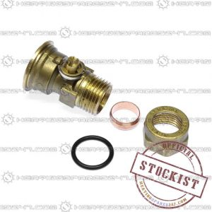 Worcester 15mm Domectic Water Valve 87161480050
